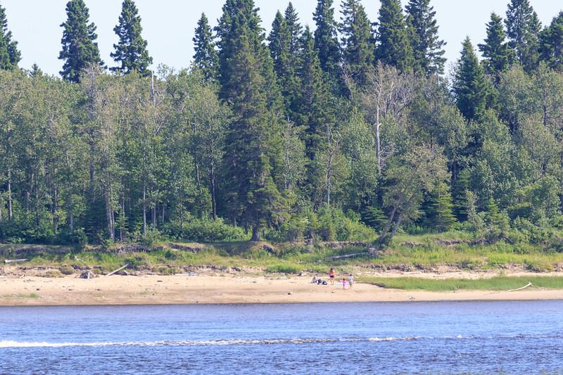 Tidewater Park on Charles Island.