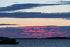 Looking down the Moose River before sunrise from Moosonee 2017 August 9th.