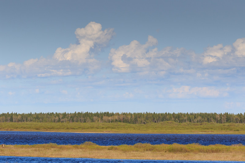 Clouds over the Moose River.