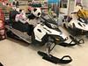 Stuffed animals on snowmobiles at Moosonee Northern Store #nwc.