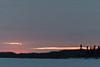 Colours fading at sunrise.