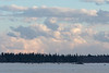 Clouds above the Moose River.
