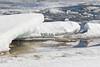 Broken ice along the Moose River tidemark. 2017 Apri 12th.