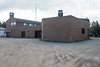 Ontario Government Building in Moosonee. View of part of back.