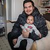 Sheldon Metatawabin and his daughter Talia