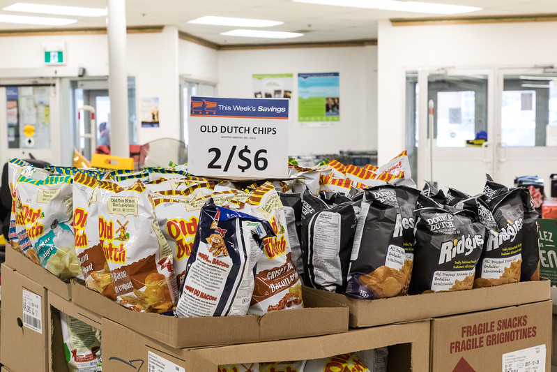 Old Dutch chips 2/$6 at Moosonee Northern store.