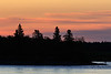 Sky shortly before sunrise across the Moose River. South end of Butler Island 2017 September 18th.