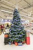 Twelve foot Christmas tree at Moosonee Northern store.