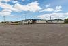 DeBeers Canada Moosonee Yard view from Butcher Street near railway tracks.