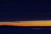 Looking across the Moose River from Moosonee before sunrise 2017 December 1.