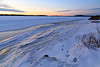 Looking up the Moose River from public docks site 2017 December 1