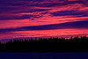 Intense colours low over Butler Island before sunrise.