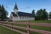 Church of the Apostles from Revillon Road. New siding.