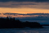 Looking down the Moose River before sunrise 2017 April 28th.