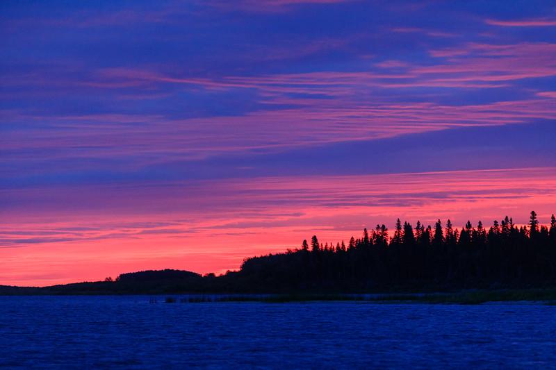 North end of Butler Island befoe sunrise.