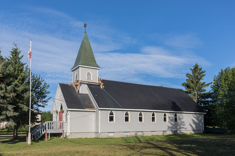 Church of the Apostles in Moosonee during residing.