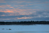 Looking across the Moose River a few minutes after sunrise 2017 January 22nd.