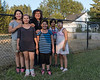 Denise Lantz with Lakeshia, Creeanna, her great niece Erica, Treanna and Edyn.