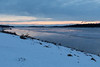 Looking down the Moose River before sunrise 2017 November 7th.