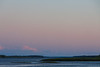 Looking up the Moose River after sunset.