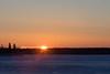 Sunrise across the Moose River 2017 February 26th.