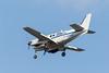 Wabusk Air Beech65-A90-1 C-GFBC over the Moose River at Moosonee.