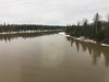 Open water on the way north. Abitibi River.