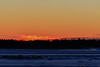 Almost sunrise in Moosonee.