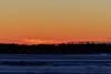 Almost sunrise in Moosonee.