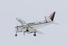 Wabusk Air King Air 100-A100 C-GAVI coming to land at Moosonee.