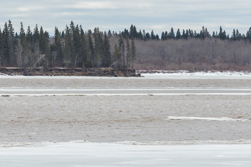 Water at south end of Butler Island 1215 noon 2017 April 28th.