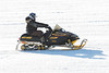 First snowmobile I saw this morning. River conditions excellent.