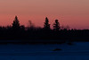 Butler Island before sunrise. Truck on the Moose River. 2017 March 5th.