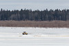 All terrain vehicle on the Moose River.