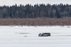 Truck on the Moose River 2017 April 6th.