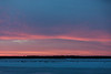 Looking across the Moose River before sunrise.