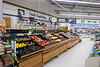 Moosonee Northern Store fruit and vegetables looking towards milk and eggs.