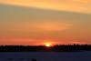 Moosonee sunrise 2017 January 15th.