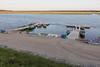 Public docks in Moosonee