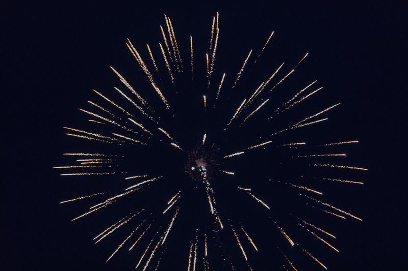 Fireworks Moosonee 2017 July 1st.