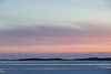 Looking down the Moose River at sunrise. 2017 March 12th.