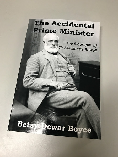 Cover of the Accidental Prime Minister received 2017 December 5th.