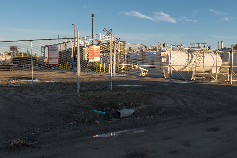 Paytahpun Petroleum 92 Revillon Road in Moosonee.