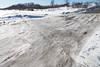 Ice surface near base of McCauley's Hill.