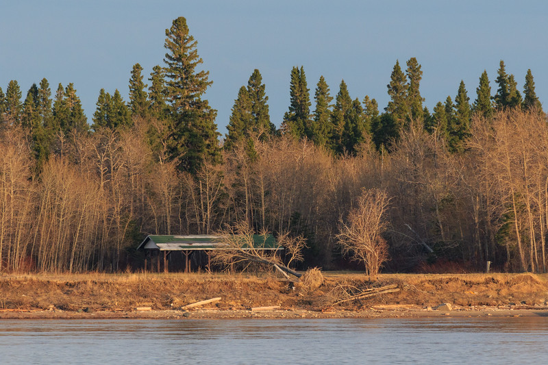 Tidewater Park on Charles Island at Moosonee.