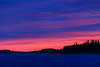 Looking down the Moose River before sunrise.