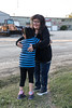 Denise Lantz with her greatniece Erica.