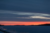 Sky before sunrise looking down the Moose River.