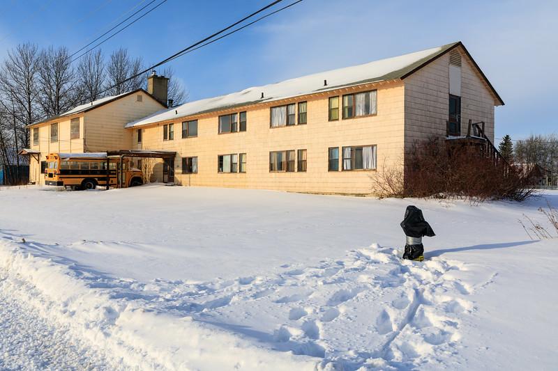 Moosonee Lodge 2017 December 2nd.