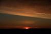 Sunrise at Moosonee. HDR sequence shot. DARK shot.